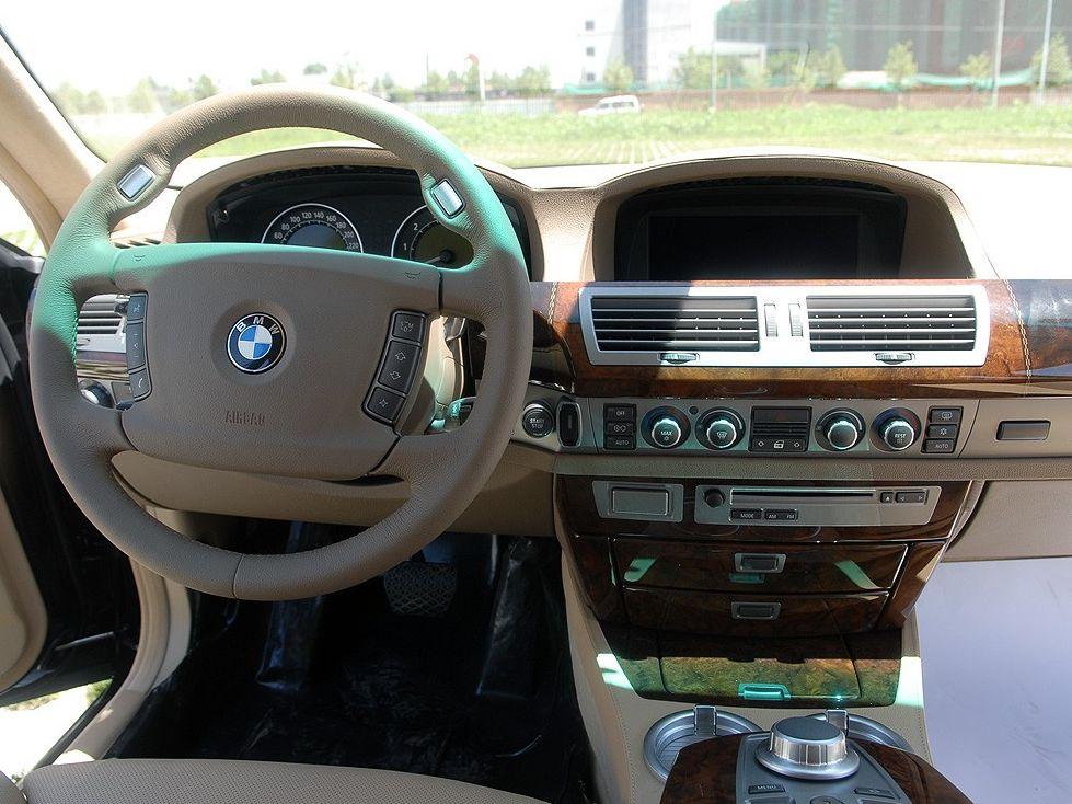 【宝马汽车酷赏图片】宝马 宝马 760li中控方向盘