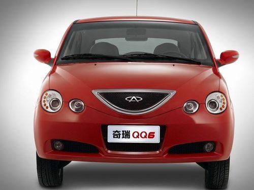 奇瑞QQ6优惠1500元 1.3L十月进入北京