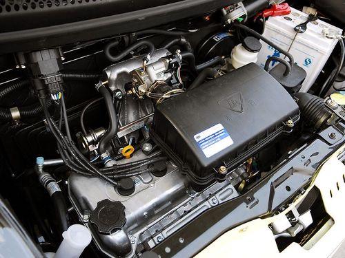 属于铃木的g系列发动机,曾经在羚羊,雨燕等车型上服役.