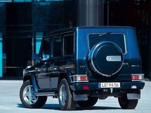 延续越野车的灵魂 冰雪试驾奔驰G55 AMG