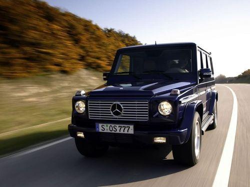 476马力奔驰G55让3万 现售价186.8万