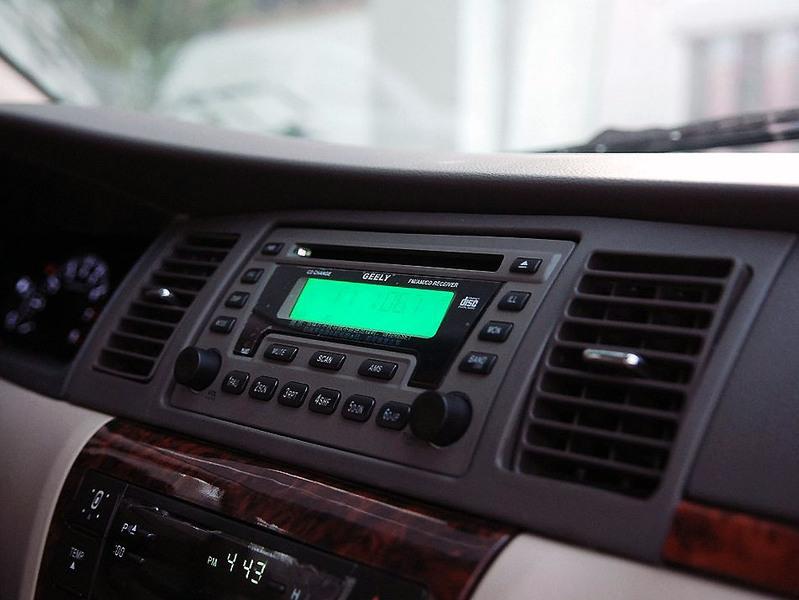 吉利汽车 吉利 远景 1.8 标准型中控方向盘1242498高清图片