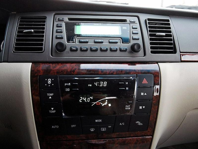 吉利汽车 吉利 远景 1.8 标准型中控方向盘1242509高清图片
