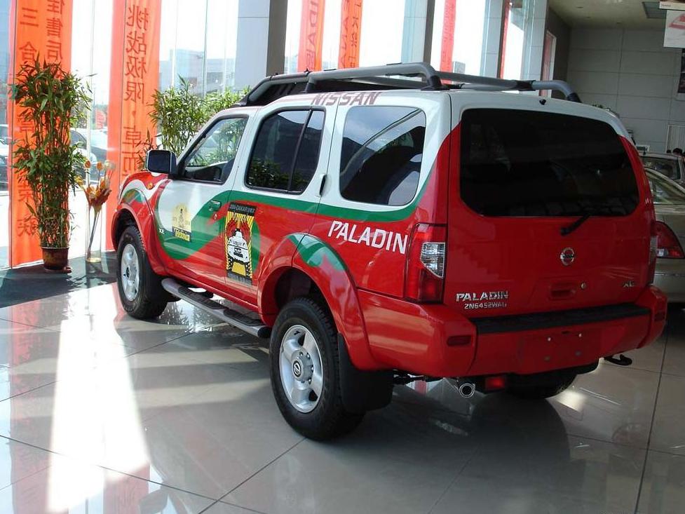 郑州日产 帕拉丁 豪华型 4x4其它与改装1348675高清图片