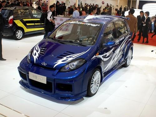 奇瑞A1推出新版 冰雪蓝新颜色全面供货