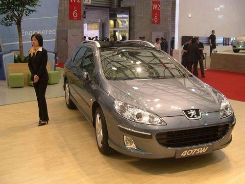 广州国际车展:08款新标致407车系亮相
