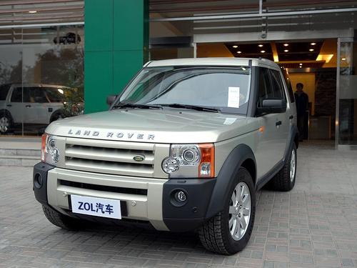豪华SUV代表!路虎发现3上海优惠1.5万