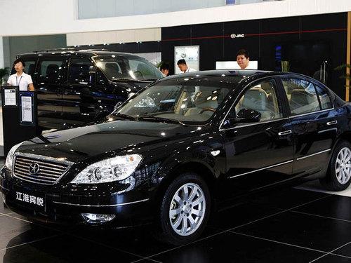 预计9月将上市 江淮宾悦将推自动挡车型