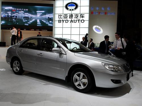 为08年布局 比亚迪六大车型赴广州车展