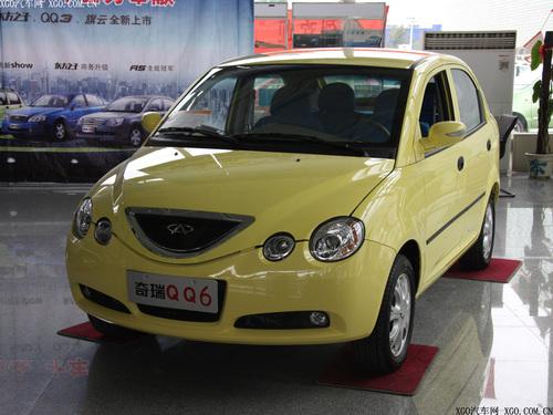 QQ6仅优惠500元 市场仅有一种车型在售
