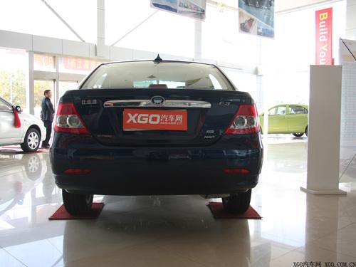 售价9万元以内 比亚迪F3自动挡本月上市