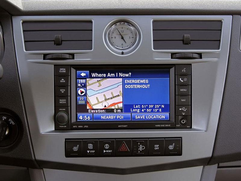 北京克莱斯勒 铂锐 2.4L 豪华型中控方向盘1470616高清图片
