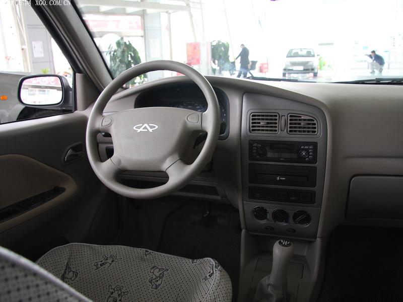 奇瑞汽车 旗云 1.3标准型中控方向盘1484870高清图片