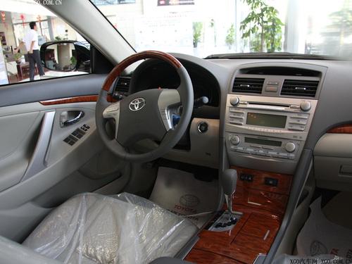 5月上市 09款凯美瑞新增G-BOOK导航车型