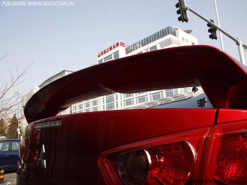 感受十代EVO的外形 试驾三菱蓝瑟EX