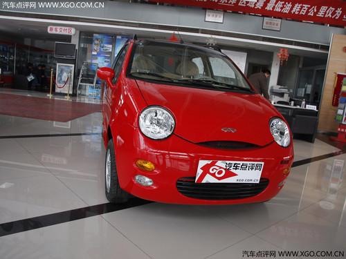 时尚入门级代步小车 奇瑞QQ3仅售3.7万