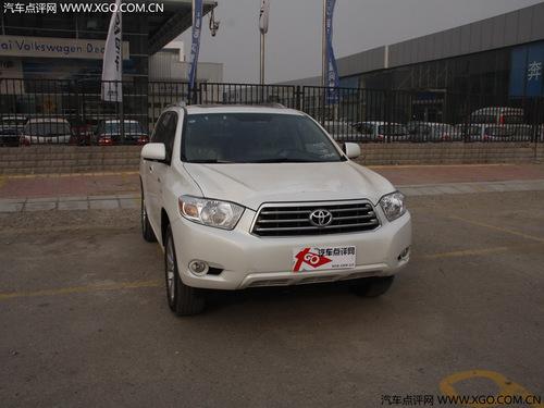 汉兰达即将国产 2.7升车型销量预期2万辆