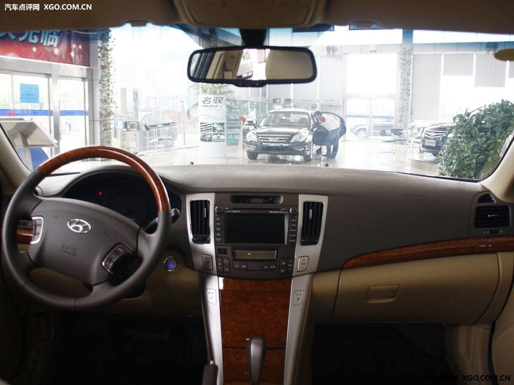 汽车图片 现代 北京现代 sonata领翔 > 中控方向盘  可以用键盘的←或