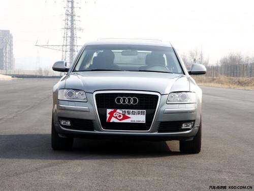 奥迪A8武汉购车加100元 可赠送1年车险