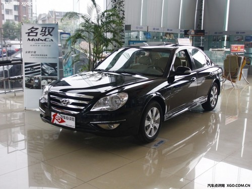 10万元入门中型车 现代名驭最低11.08万
