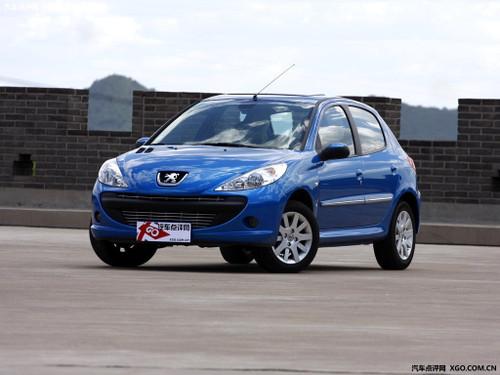 店内现车充足 标致207最低仅售7.18万元