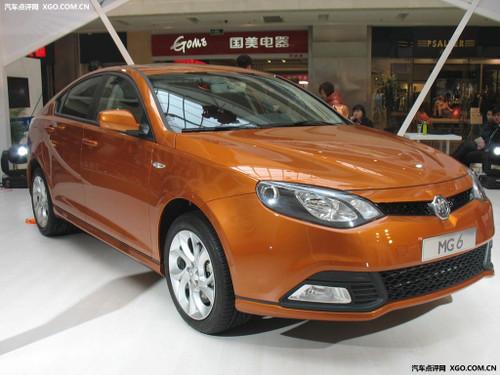 武汉少量现车到店 MG6最低售12.88万元