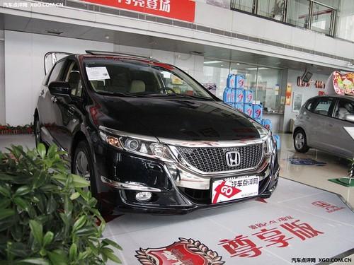 新奥德赛上海展车到店 预定11月可提车
